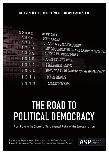 9789054878629: The Road to Political Democracy: From Plato to the Charter of Fundamental Rights of the European Union