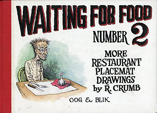 9789054920083: Waiting for food 2: more restaurant placemat drawings 1994-2000