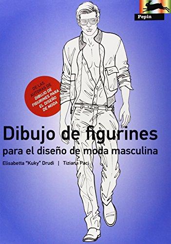 9789054961574: Dibujo de Figurines Para el Diseno de Moda Masculina