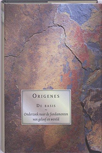 9789055739684: De Basis: onderzoek naar de fundamenten van geloof en wereld