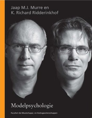 Modelpsychologie.: Murre, Jaap M.J.