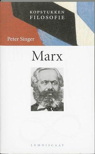 Marx (Kopstukken Filosofie) - Singer, Peter