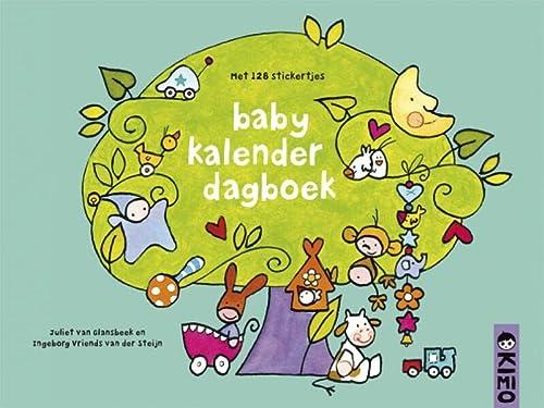 9789056477370: Baby kalender dagboek: met 128 stickertjes