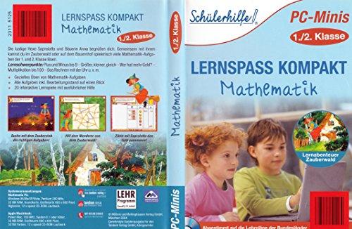 9789056560140: Sch�lerhilfe-PC Minis 1./2. Klasse~Lernspass Kompakt-Mathematik