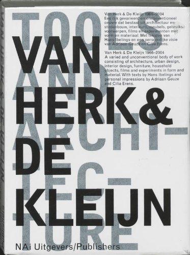 Van Herk & De Kleijn: Tools and Architecture: Ibelings, Hans