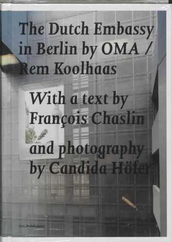 9789056623562: The Dutch Embassy in Berlin By Oma/Rem Koolhaas