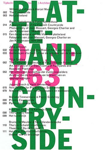 OASE 63 ARCHITECTURAL JOURNAL PLATTELAND COUNTRYSIDE 2004