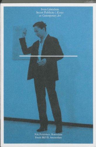 9789056624675: Secret Publicity: Essays on Contemporary Art