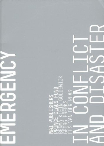 9789056628178: Cultural Emergency in Conflict and Disaster