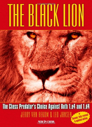 The Black Lion: The Chess Predator's Choice: Jerry Van Rekom;