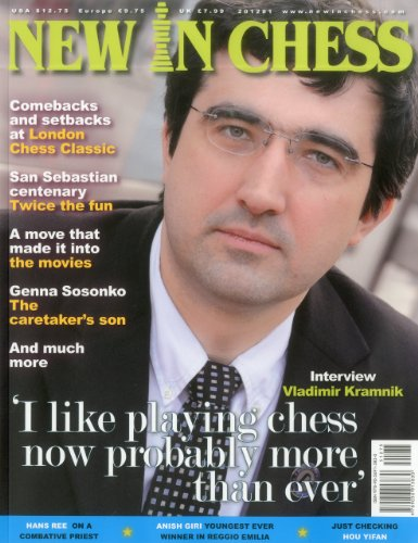 9789056913830: New In Chess Magazine 2012/1 (New in Chess, Issue 1)