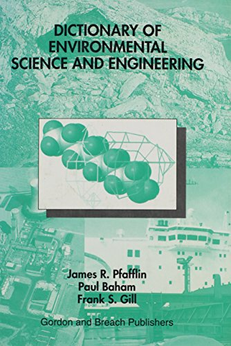 9789056990039: Dictionary of Environmental Science and Engineering