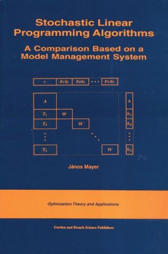 Stochastic Linear Programming Algorithms. A Comparison Based on a Model Management System.: Mayer, ...