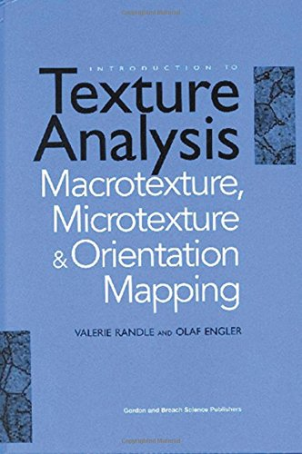 9789056992248: Introduction to Texture Analysis: Macrotexture, Microtexture and Orientation Mapping