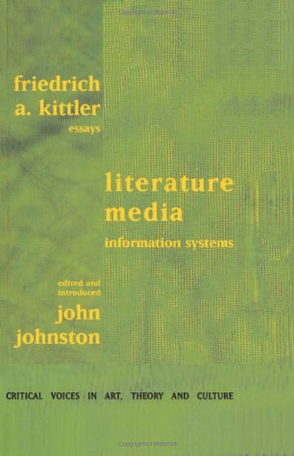9789057010712: Literature, Media, Information Systems (Critical Voices in Art, Theory & Culture)