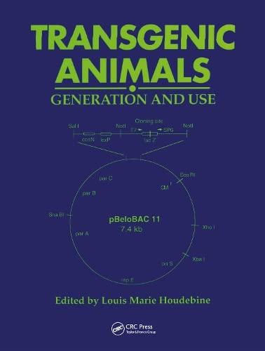 Transgenic Animals (Hardcover): Houdebine Houdebine