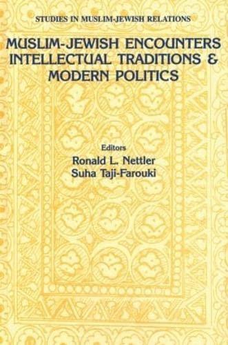 9789057021954: 4: Muslim-Jewish Encounters (Studies in Mulsim-Jewish Relations)