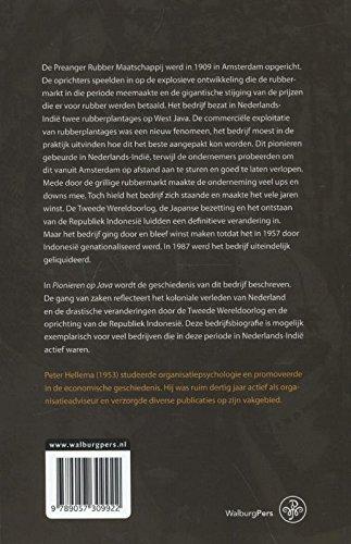 9789057309922: Pionieren op Java: de Preanger Rubber Maatschappij onder Amsterdamse regie, 1909-1957