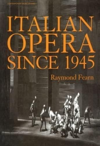 9789057550010: Italian Opera Since 1945
