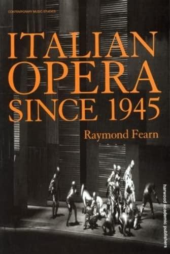 9789057550027: Italian Opera Since 1945