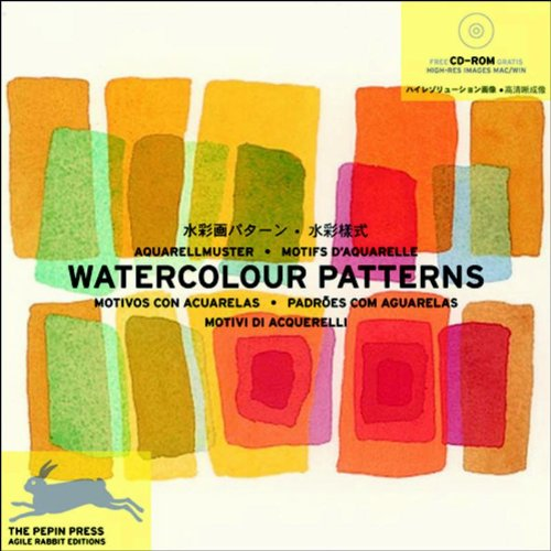 9789057680762: Watercolour Patterns + CD ROM (Agile Rabbit Editions)