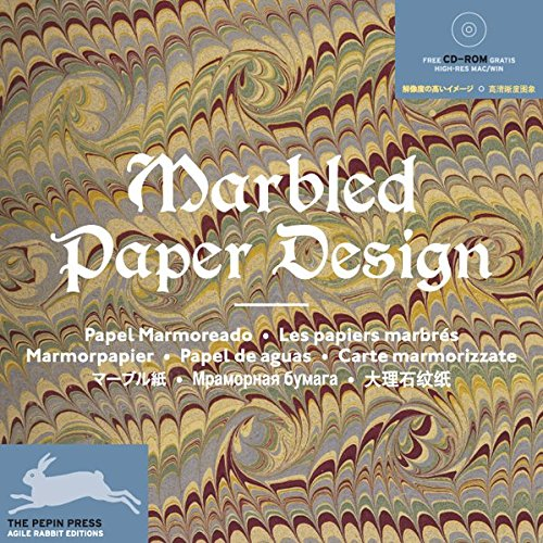 9789057681073: Marbled Paper Design (Agile Rabbit Editions)