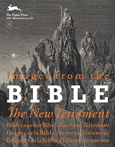 9789057681363: Images from the Bible, The New Testament : Edition en anglais, allemand, fran�ais, espagnol (1C�d�rom)