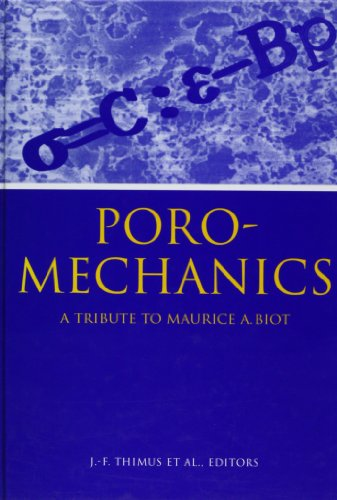 9789058090034: Poromechanics Tribute to M Biot(pro