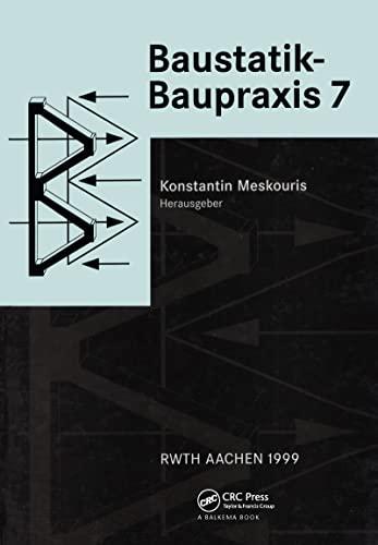 9789058090447: Baustatik Baupraxis 7