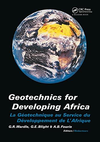 9789058090829: Geotechnics Developing Africa