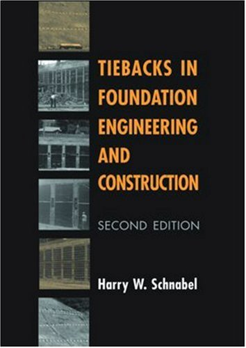 9789058093462: Tiebacks in Foundation (2nd) Engineering