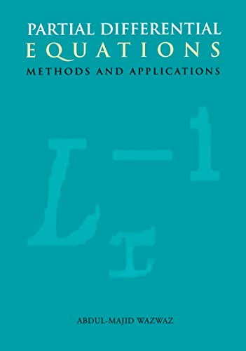 9789058093691: Partial Differential Equations