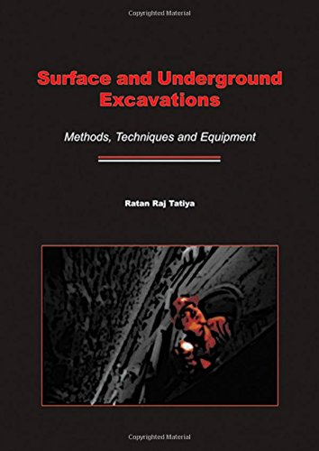 9789058096272: Surface and Underground Excavations: Methods, Techniques and Equipment
