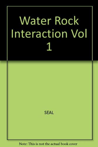 Water Rock Interaction - Volume 1 - 11th International Symposium on Water - Rock Interaction (WRI...