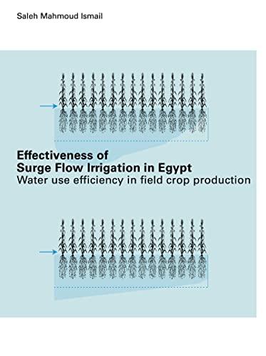 Effectiveness of Surge Flow Irrigation in Egypt: ISMAIL, Saleh Mahmoud.