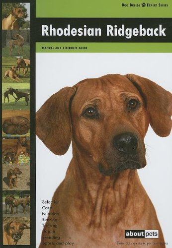9789058218438: Rhodesian Ridgeback (Dog Breeds Expert)