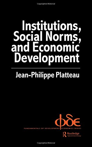 9789058230584: Institutions, Social Norms and Economic Development (Fundamentals of Development Economics)