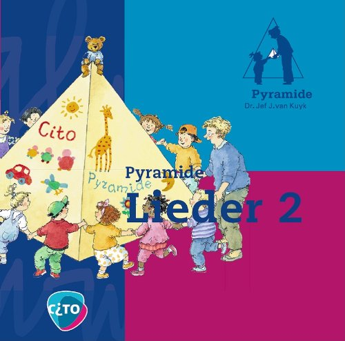 9789058340986: Kinderlieder CD Kindergarten, Pyramide Lieder 2