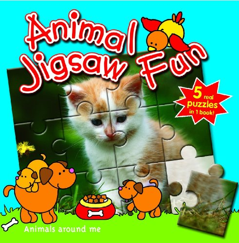 Animals Around Me: Animal Jigsaw Fun (9058435504) by Yoyo Books