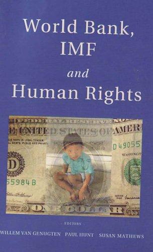 9789058500533: World Bank, IMF and Human Rights