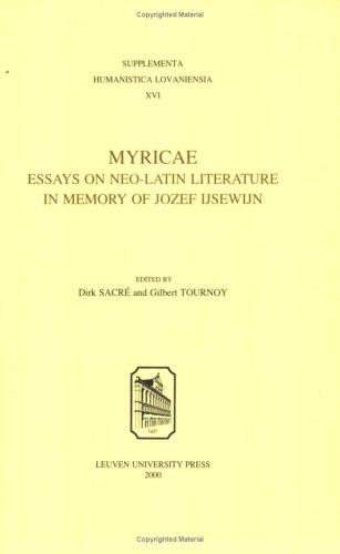 Myricae: de Rebus Italicis Deque Triumpho Ludovici XII Regis Francorum Tragoedia (Paperback)