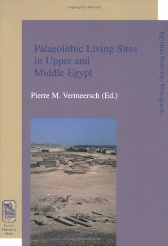 Palaeolithic Living Sites in Upper and Middle Egypt.: Vermeersch, P.