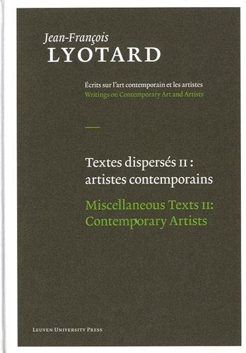 Miscellaneous Texts: Jean-Francois Lyotard, Herman