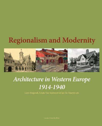 9789058679185: Regionalism and Modernity: Architecture in Western Europe 1914-1940 (KADOC Artes)