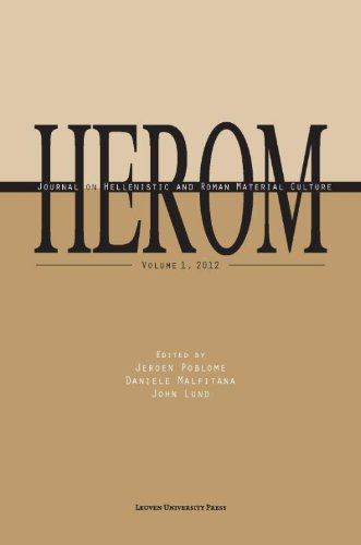 9789058679284: Herom: Journal on Hellenistic and Roman Material Culture