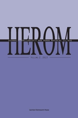 9789058679727: HEROM: Journal on Hellenistic and Roman Material Culture
