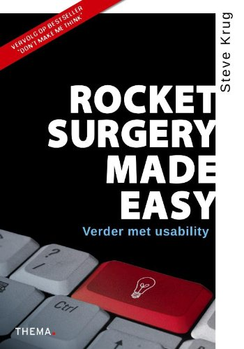 9789058714404: Rocket surgery made easy: verder met usability