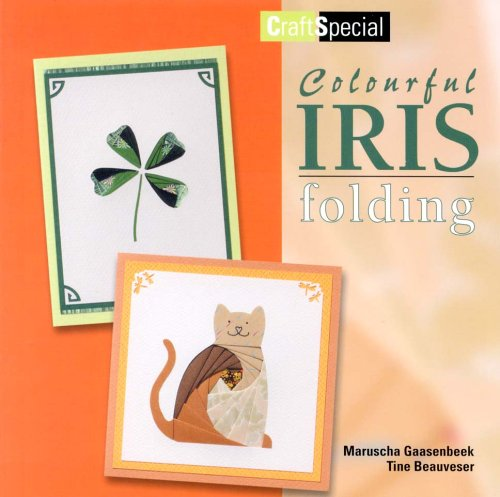 9789058773777: Colourful Iris Folding (Crafts Special)