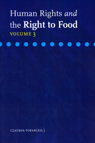 9789058870667: Human Rights and the Right to Food: Volume 3