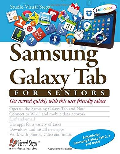 Samsung Galaxy Tab for Seniors (Computer Books for Seniors series): Studio Visual Steps